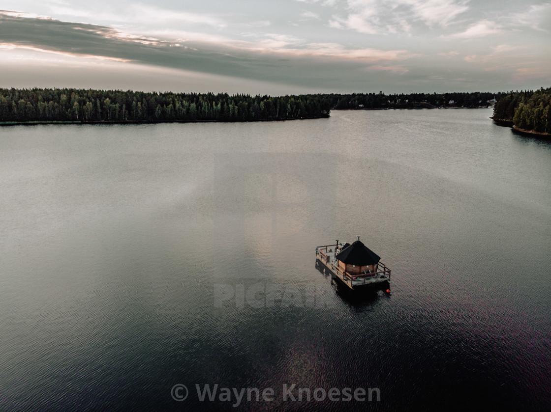 """House boat"" stock image"