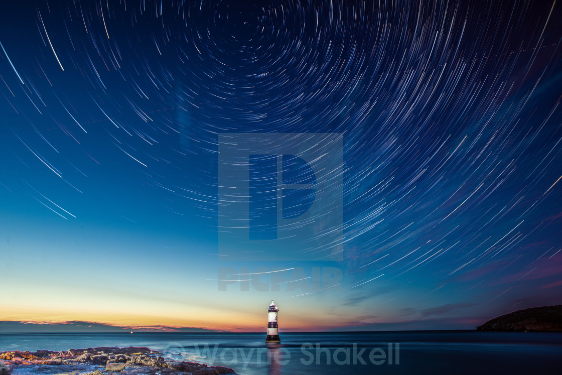 """Black Point Lighthouse"" stock image"