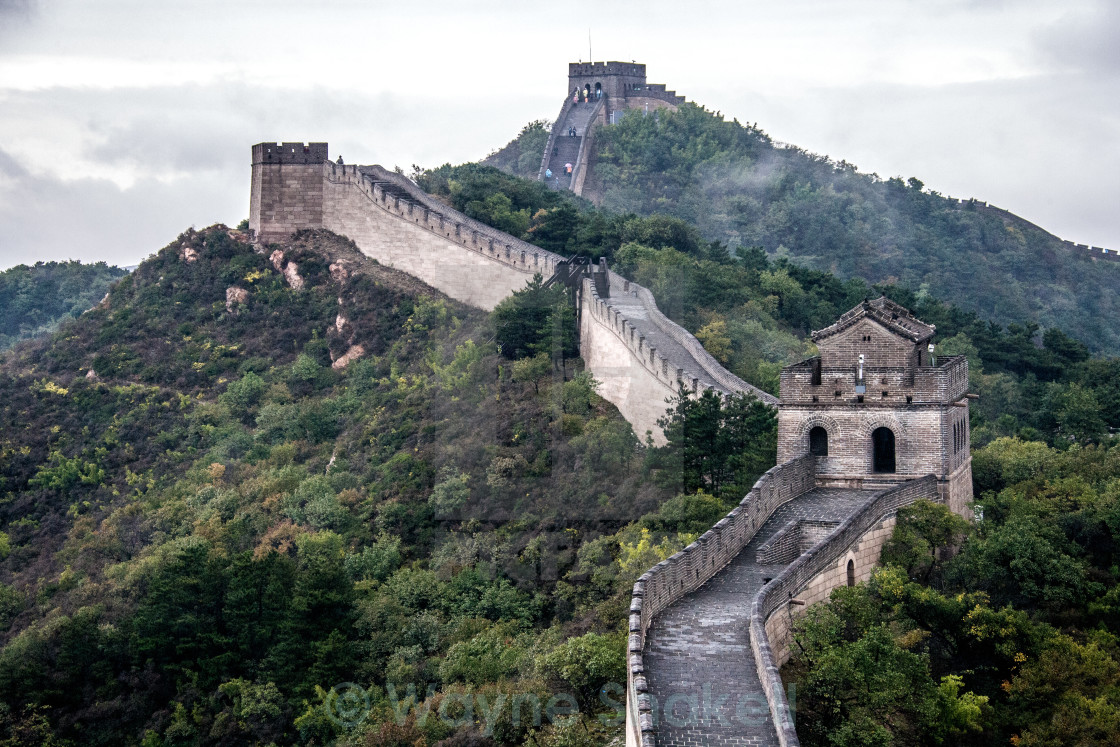 """The Great Wall of China"" stock image"