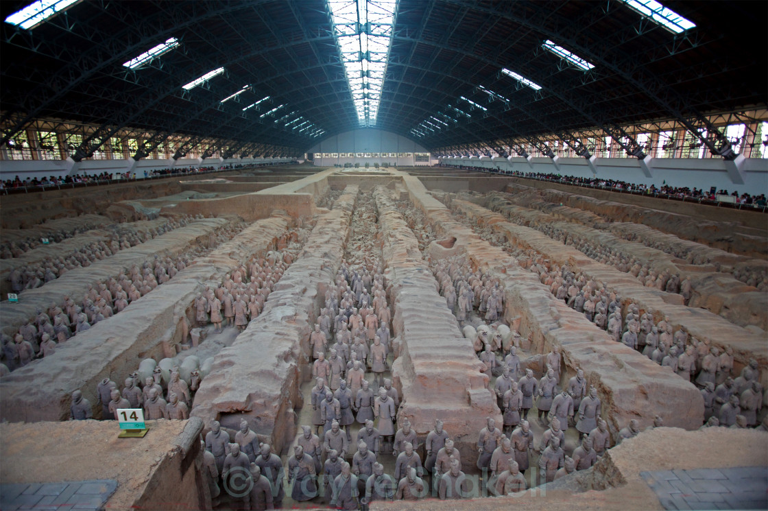 """""""Terracotta Army"""" stock image"""