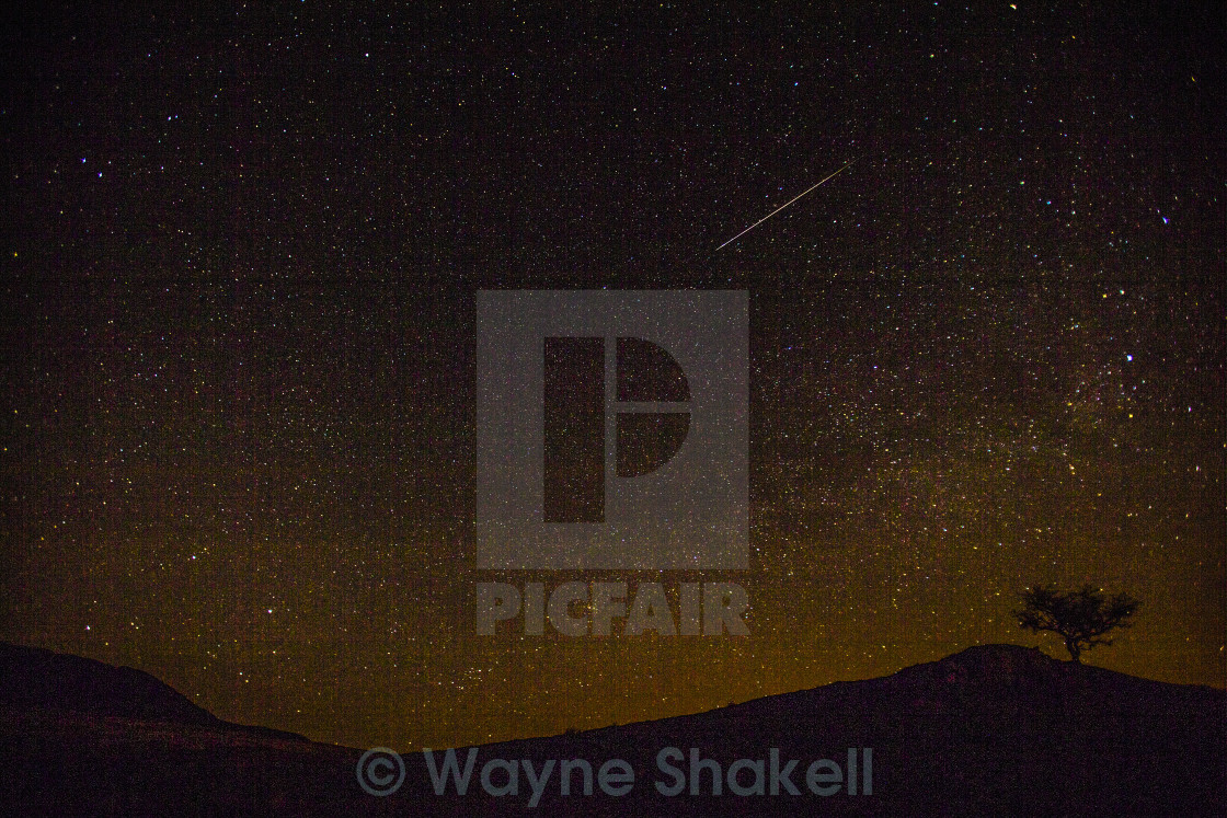 """Shooting Star"" stock image"