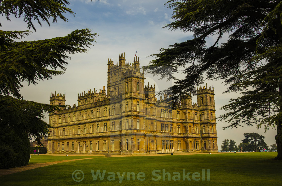 """Downton Abbey"" stock image"