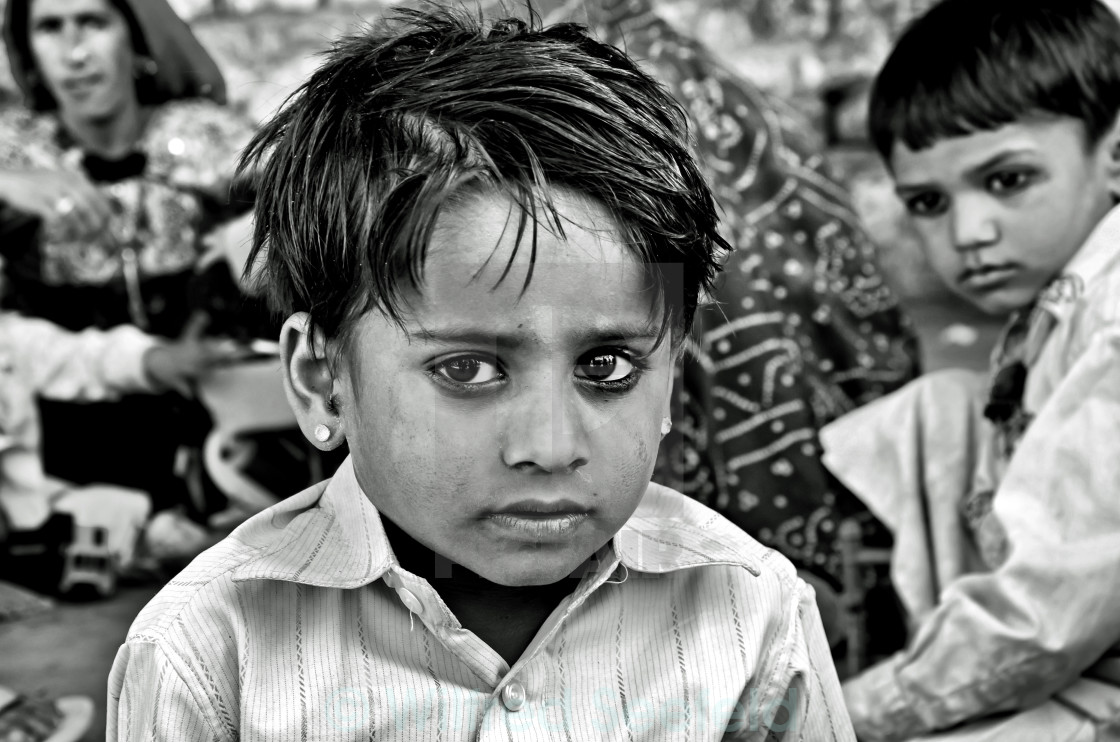 """JAISALMER BOY"" stock image"