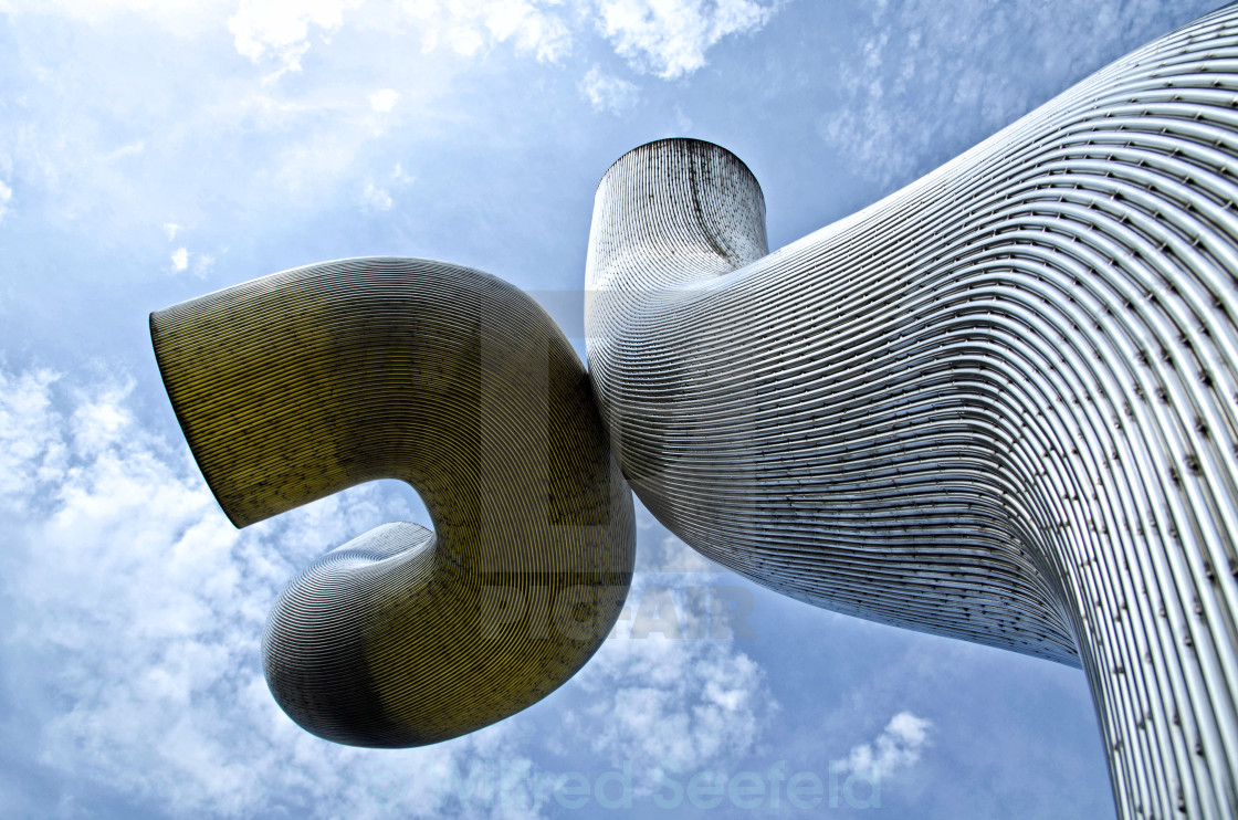 """BERLIN SCULPTURE"" stock image"