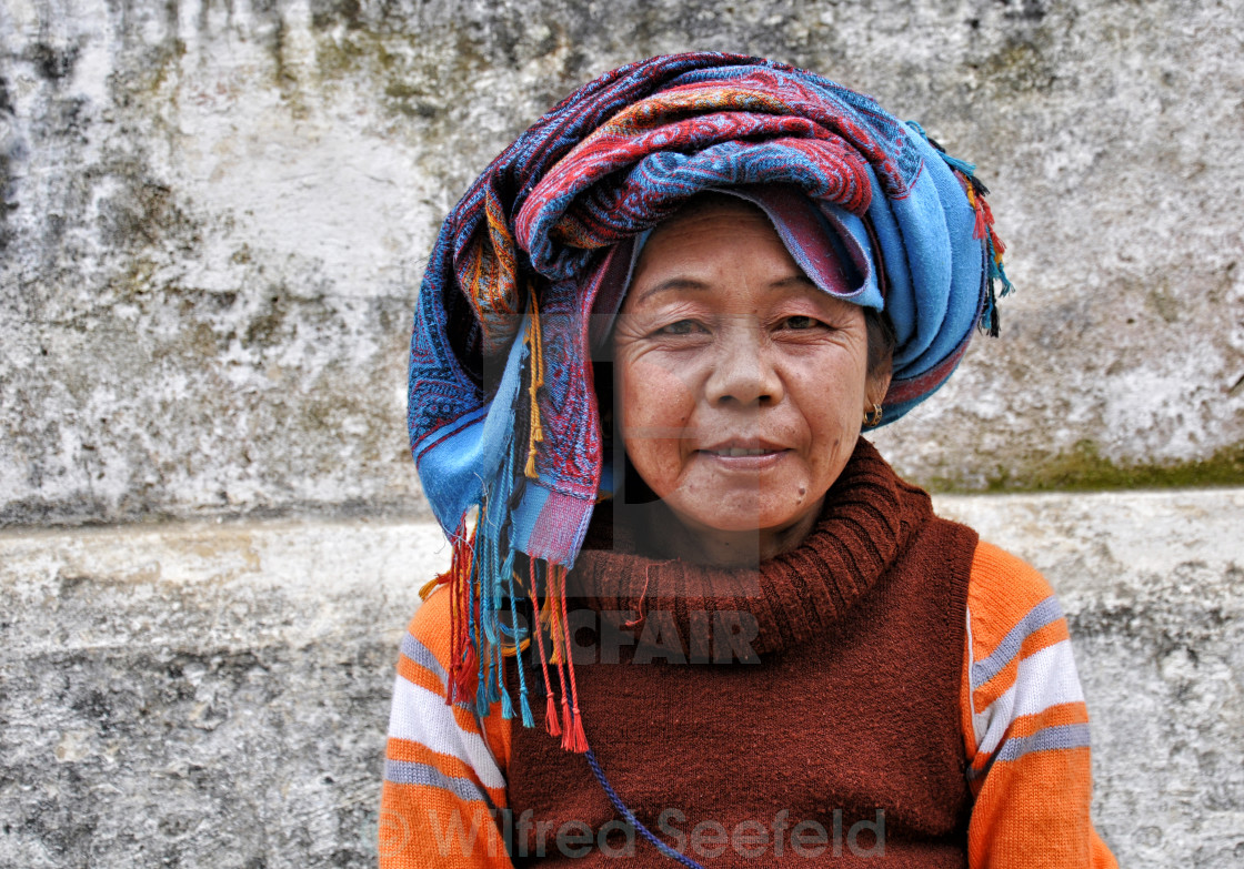 """LAO WOMAN"" stock image"