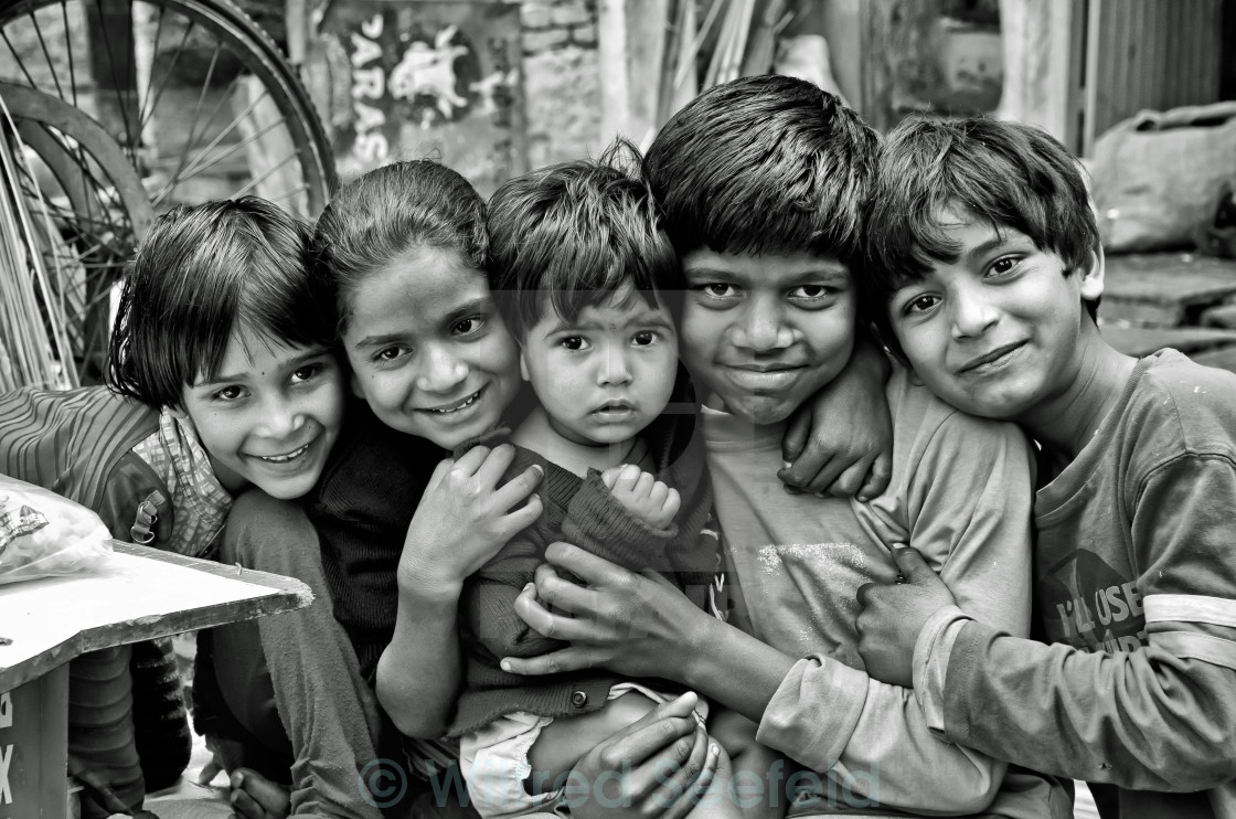 """UDAIPUR KIDS"" stock image"