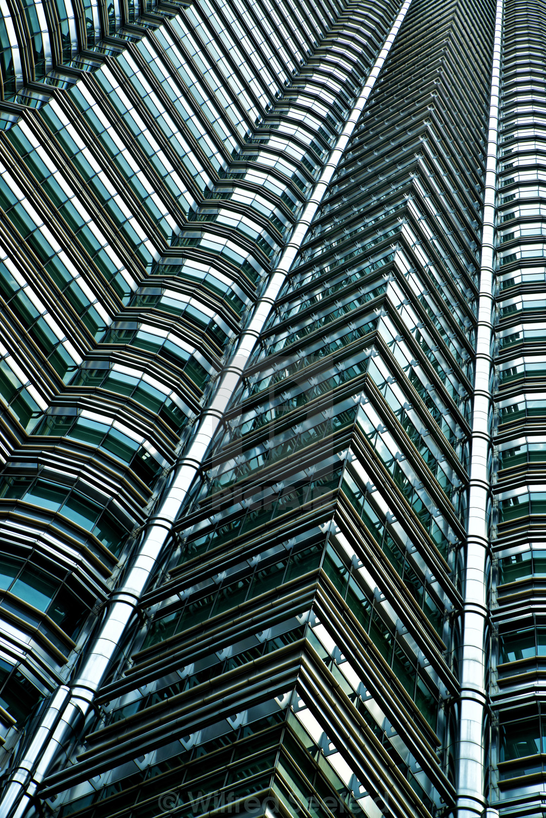 """PETRONAS TOWERS"" stock image"