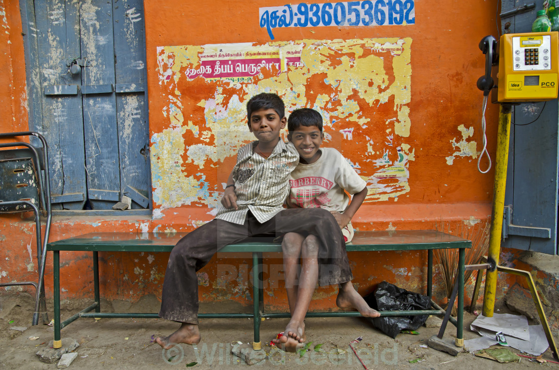 """STREET KIDS"" stock image"