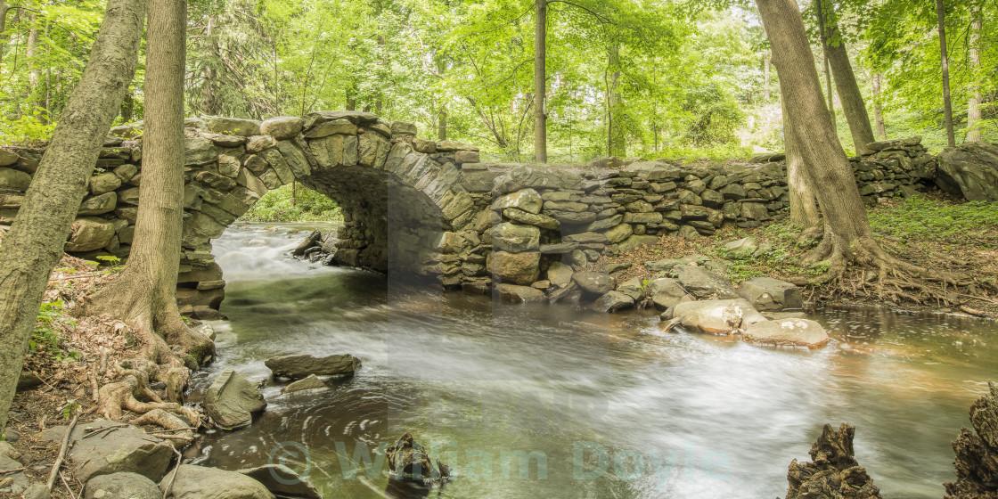 """Footbridge"" stock image"