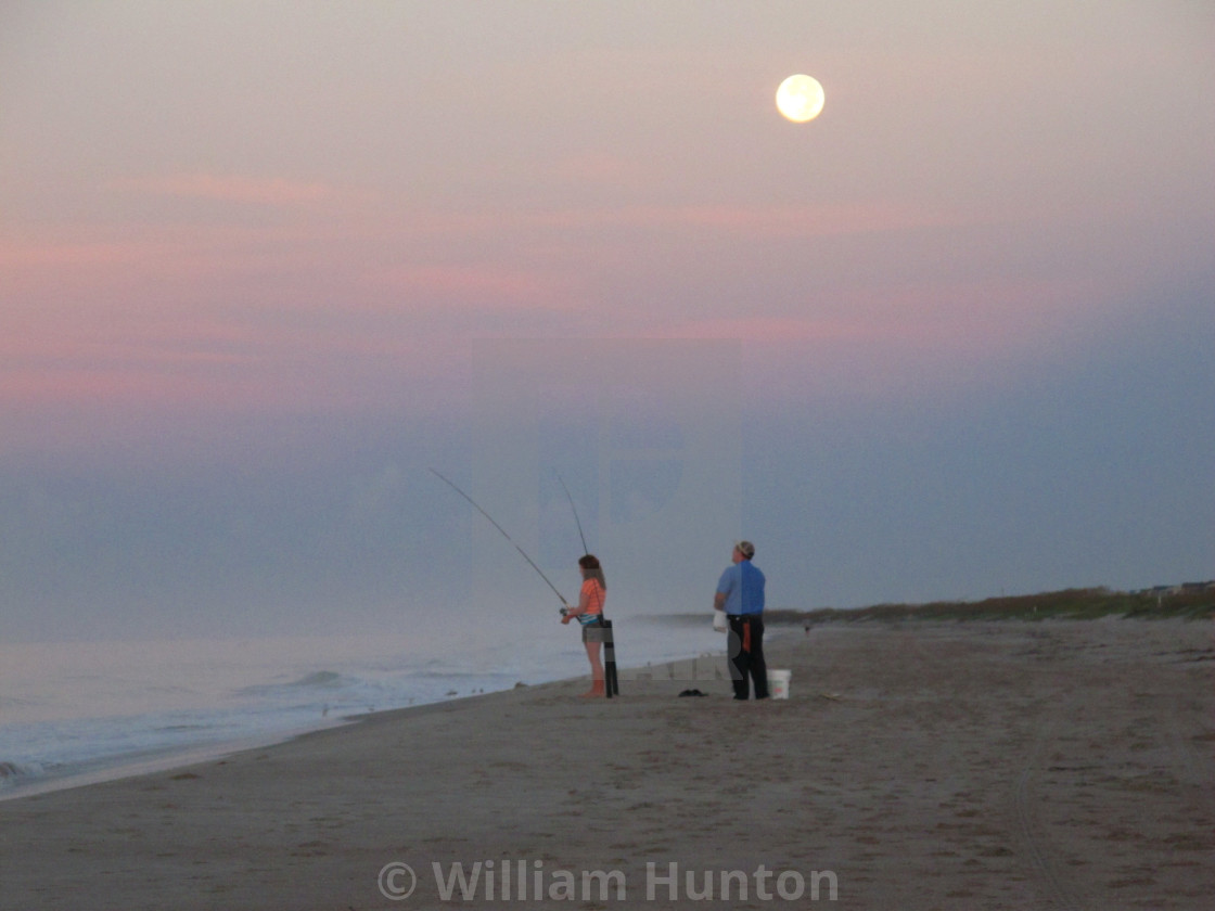 """Fishing Early Morning"" stock image"