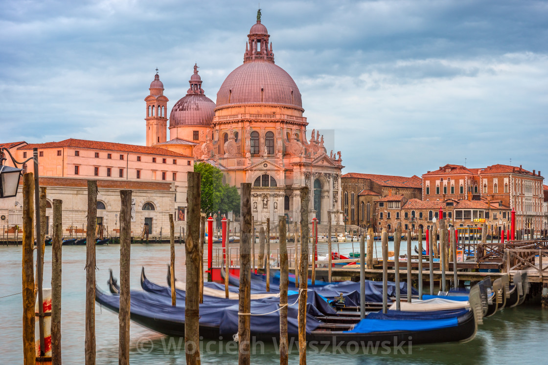 """Venice in the morning, city landscape, Italy"" stock image"