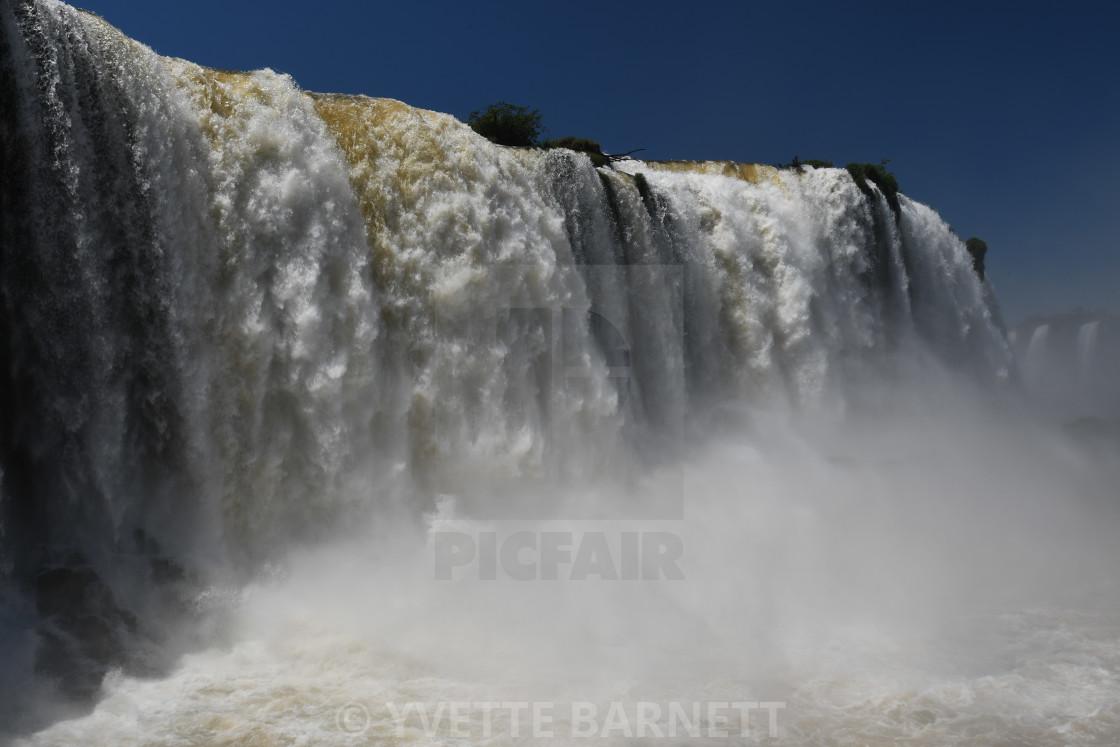 """""""Iguassu Falls"""" stock image"""