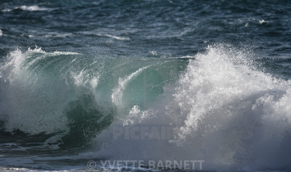 """""""Waves of winter"""" stock image"""