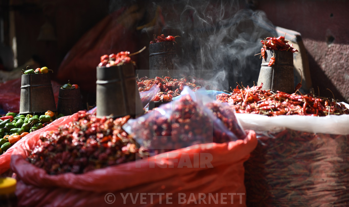"""""""Red hot chillis"""" stock image"""