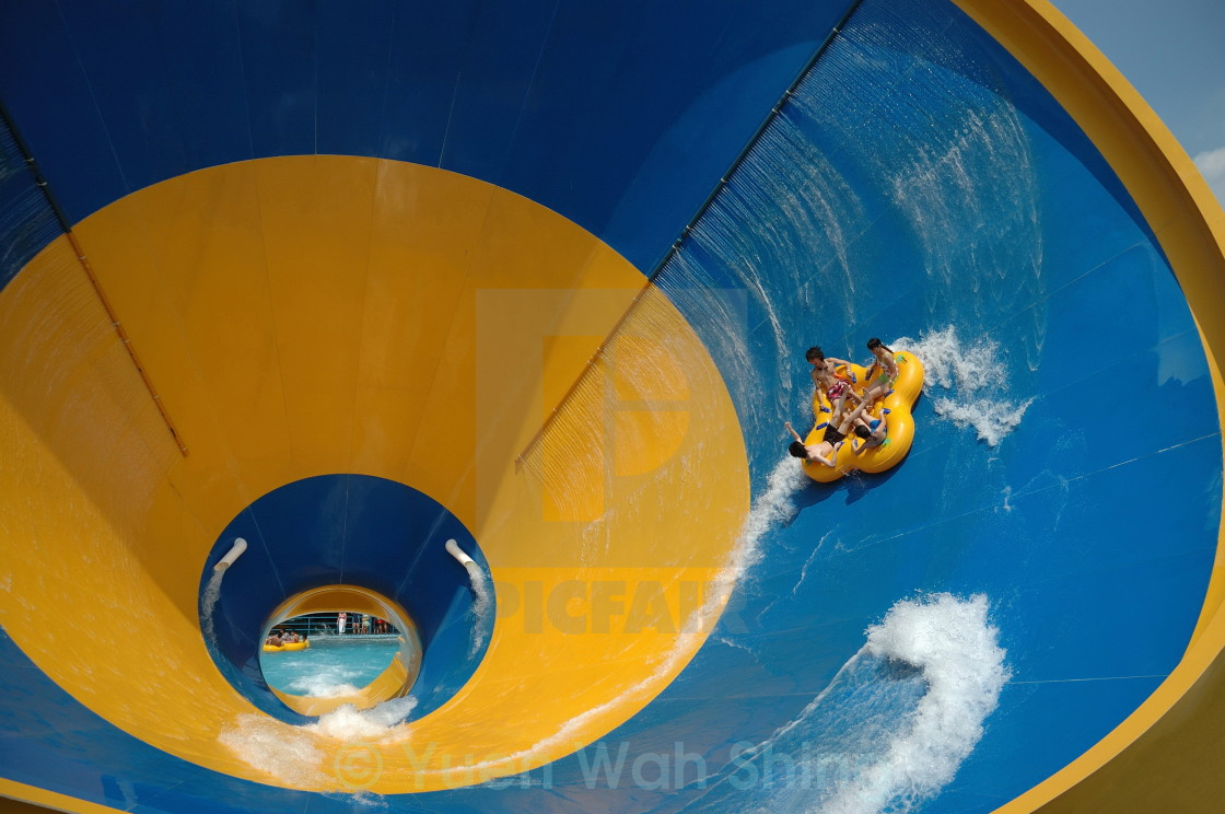 """Surfing in the Cone"" stock image"