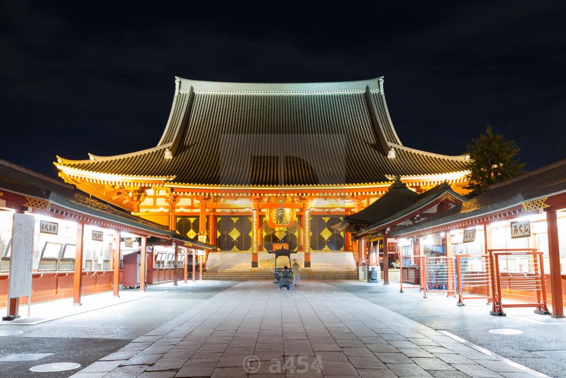 370745d43 TOKYO,JAPAN - NOVEMBER 17,2016: Sensoji a famous ancient - License ...