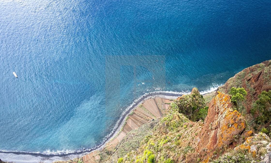 """""""Cabo Girão"""" stock image"""