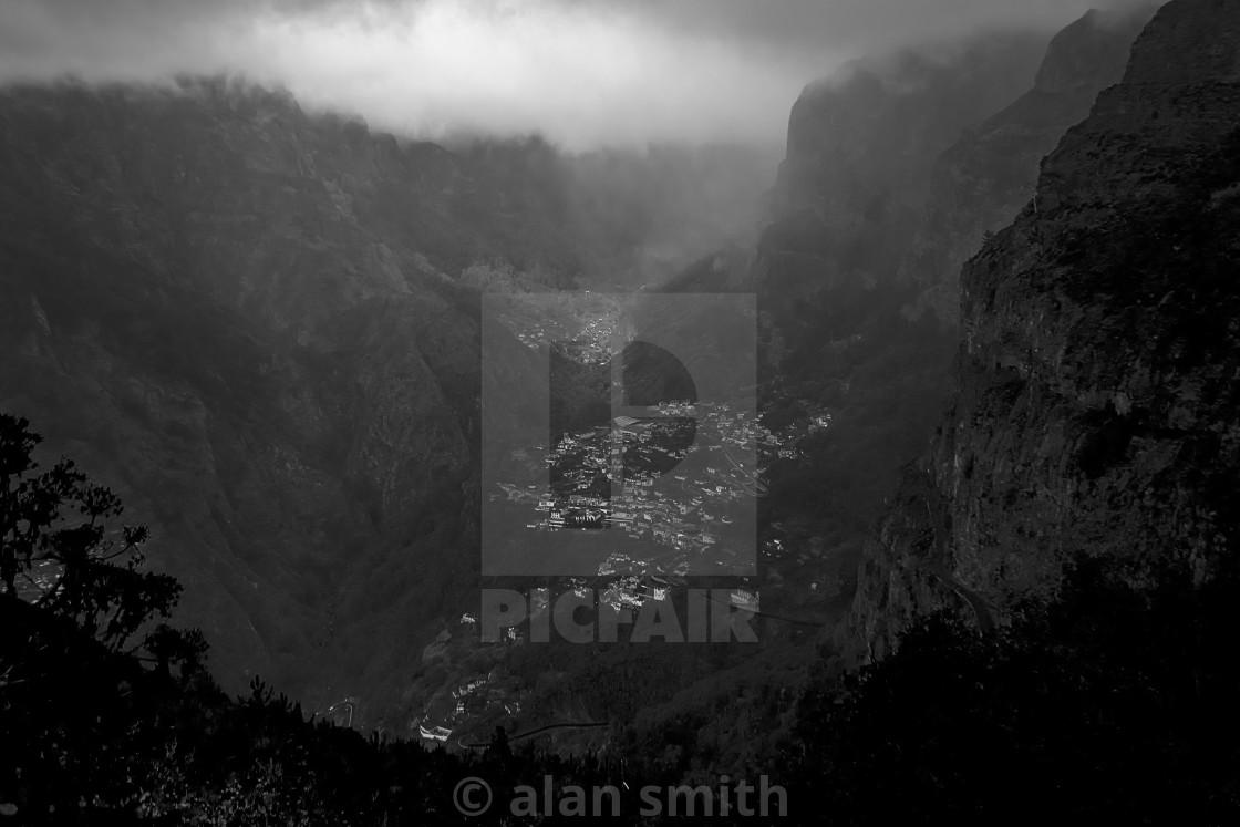 """""""Hidden Valley"""" stock image"""