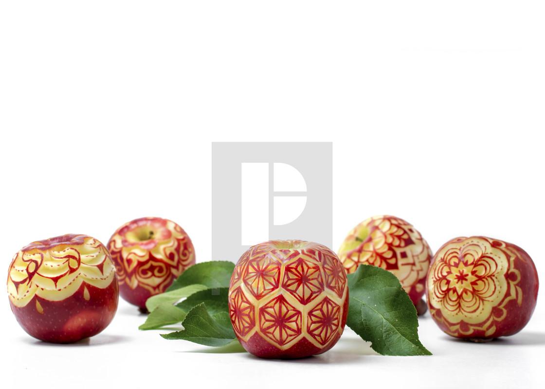 apples carved