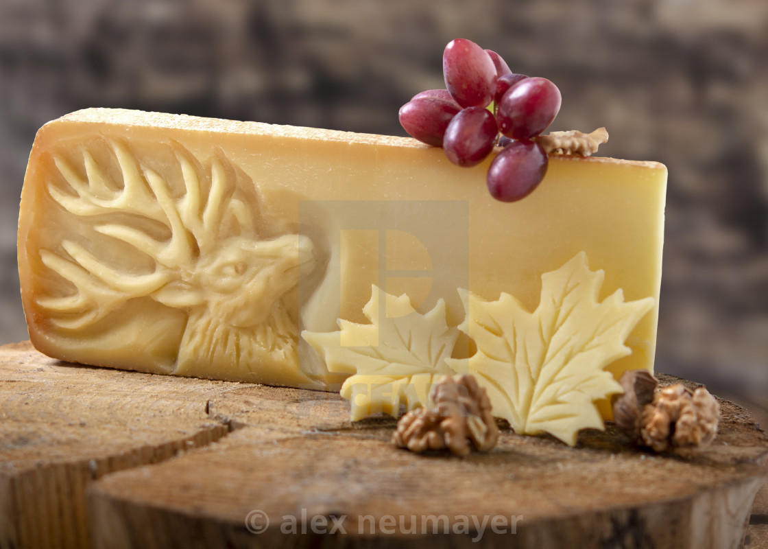 cheese carved design