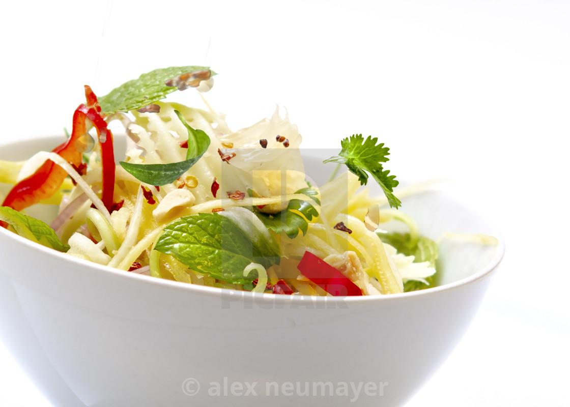 light asian salads