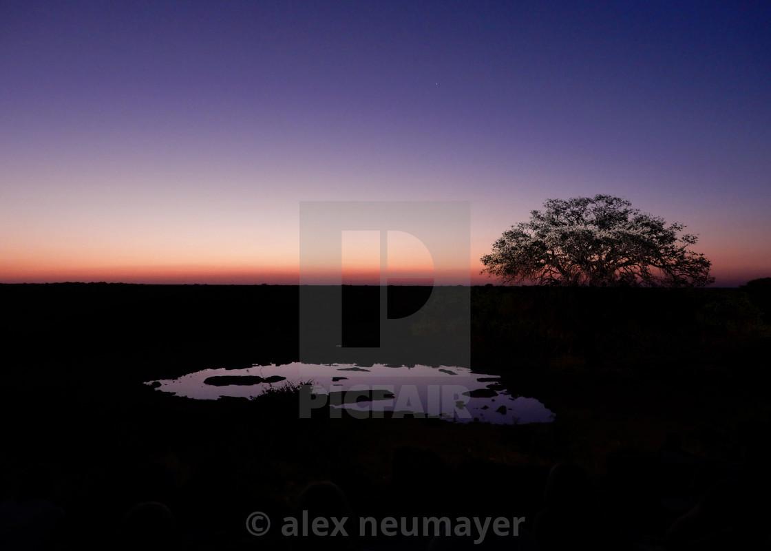 savannah sunsets in namibia