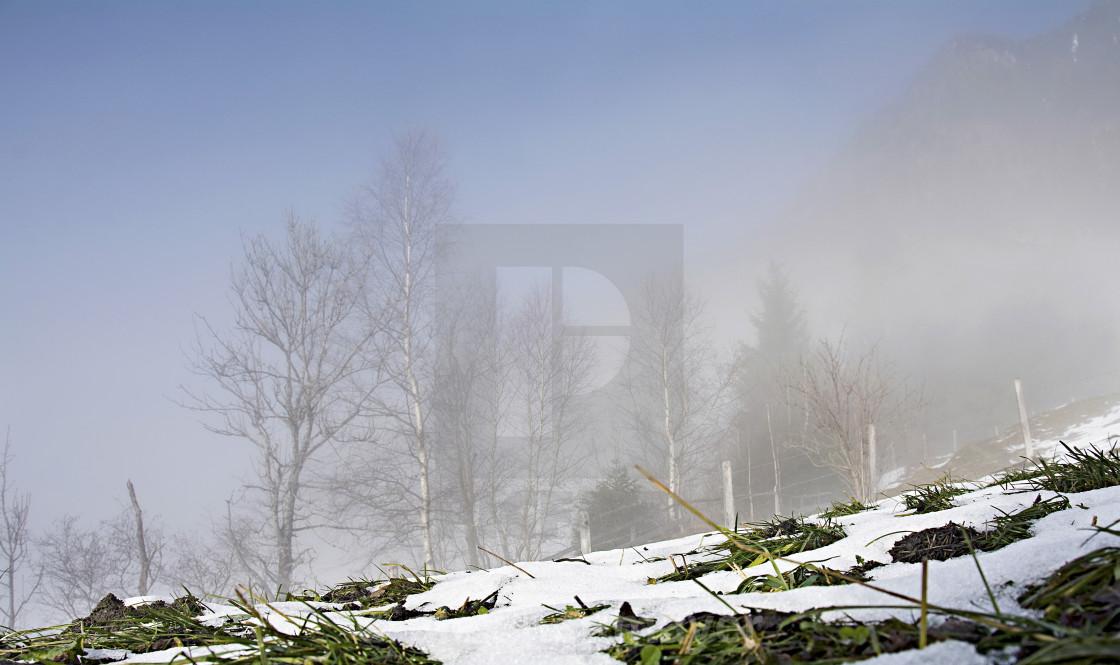 Gastein Austria wintertime