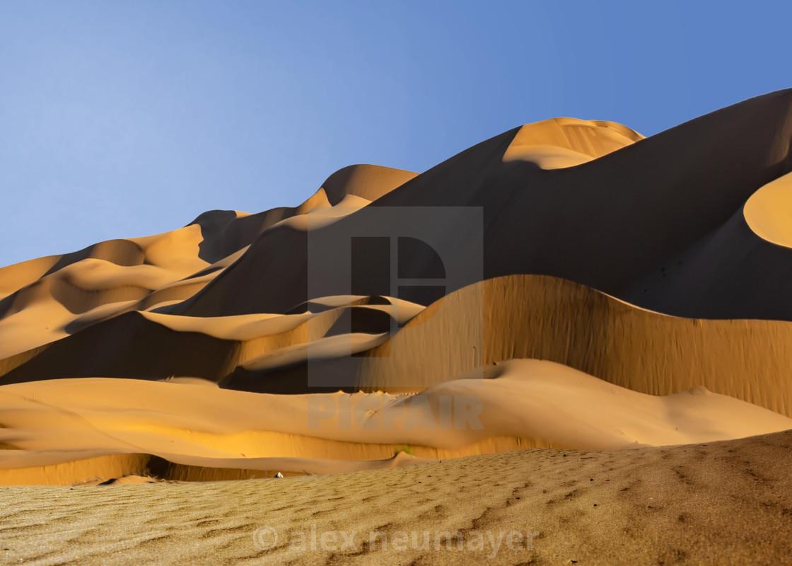 Namib sand dunes & antelopes