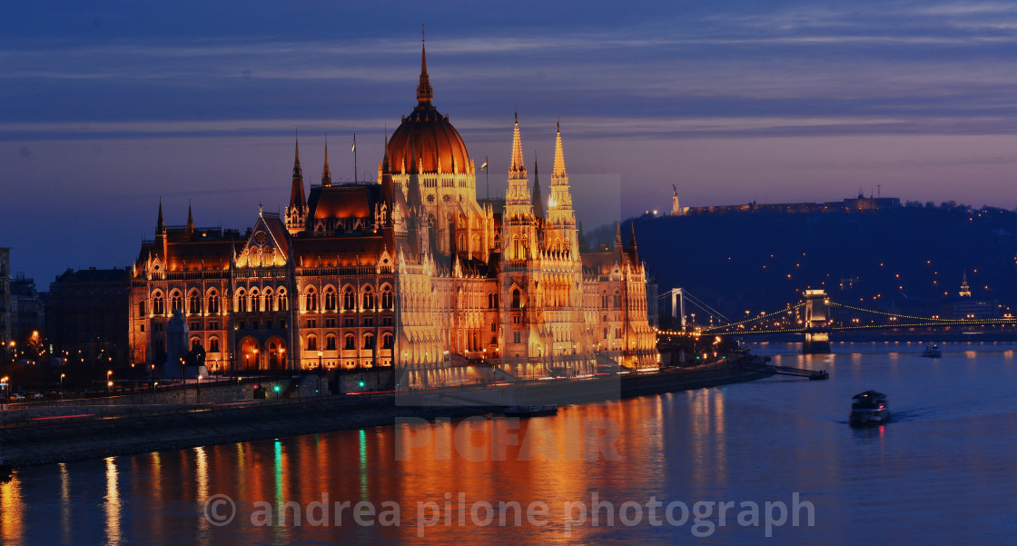 """Budapest, the Parliament"" stock image"