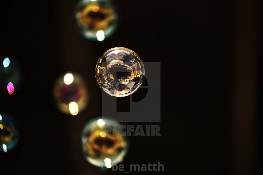 """Bubble life"" stock image"