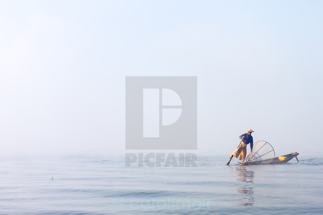"""lake inle myanmar"" stock image"