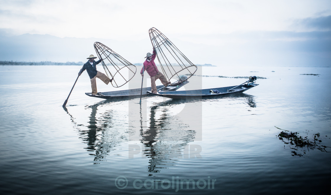 """fishermen dance"" stock image"
