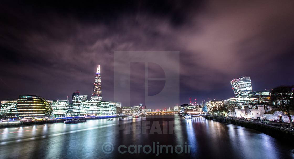 """""""view from a bridge"""" stock image"""