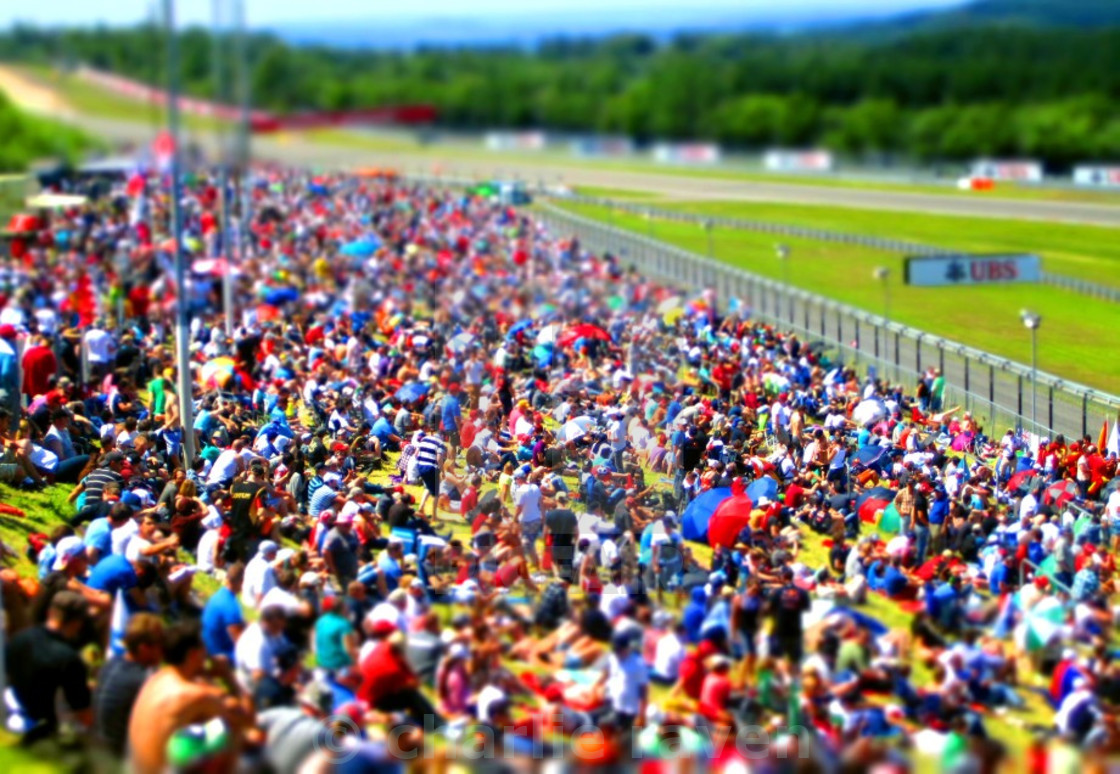"""F1 Crowd"" stock image"
