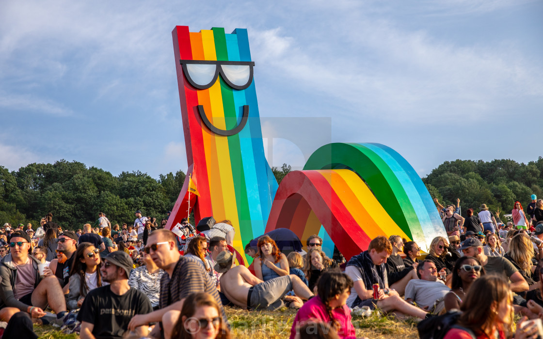 """Glastonbury Festival 2019"" stock image"