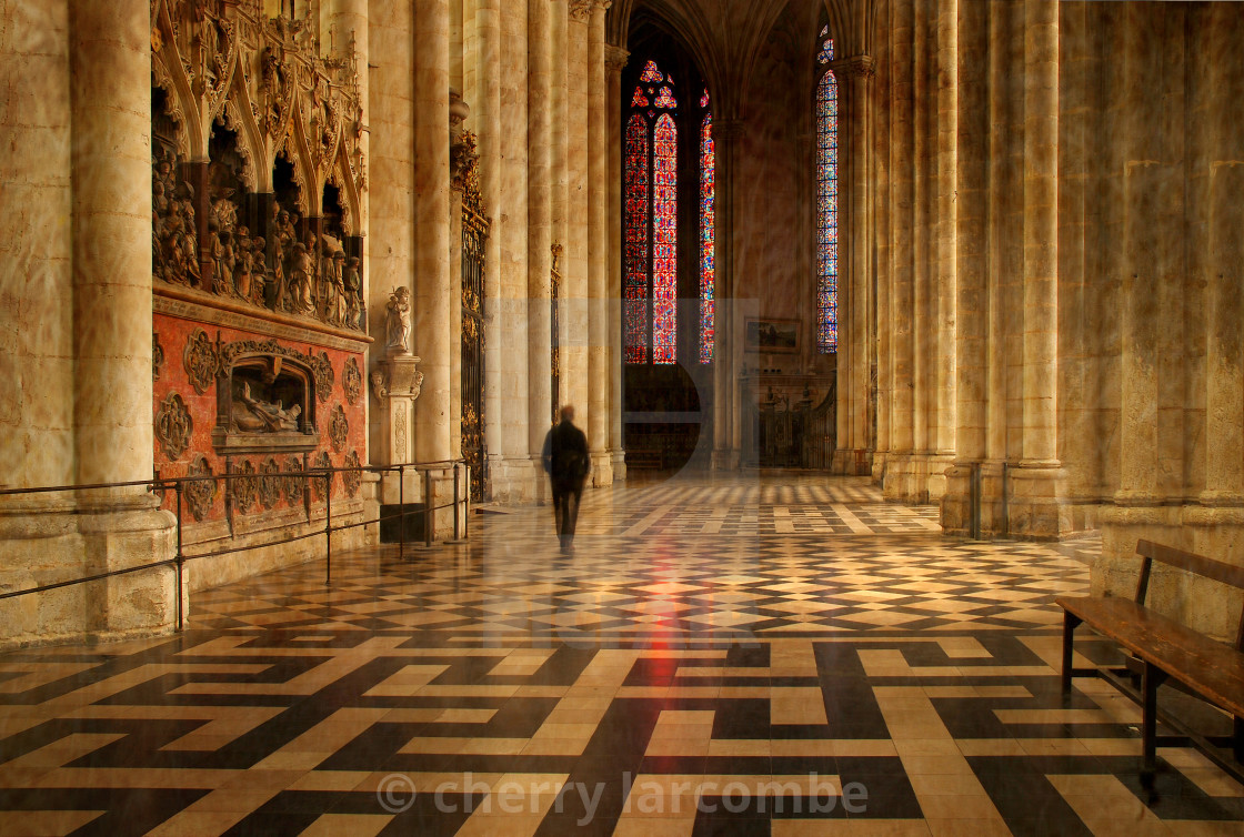 """""""Amiens Cathedral"""" stock image"""