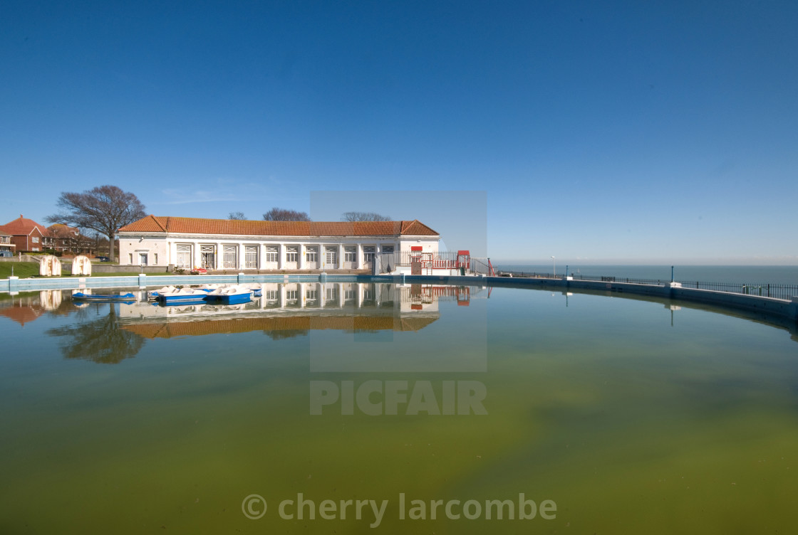 """Ramsgate Boating Pool"" stock image"