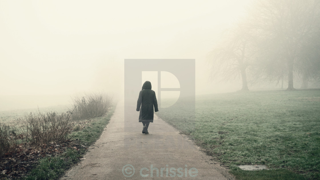 """The walk"" stock image"