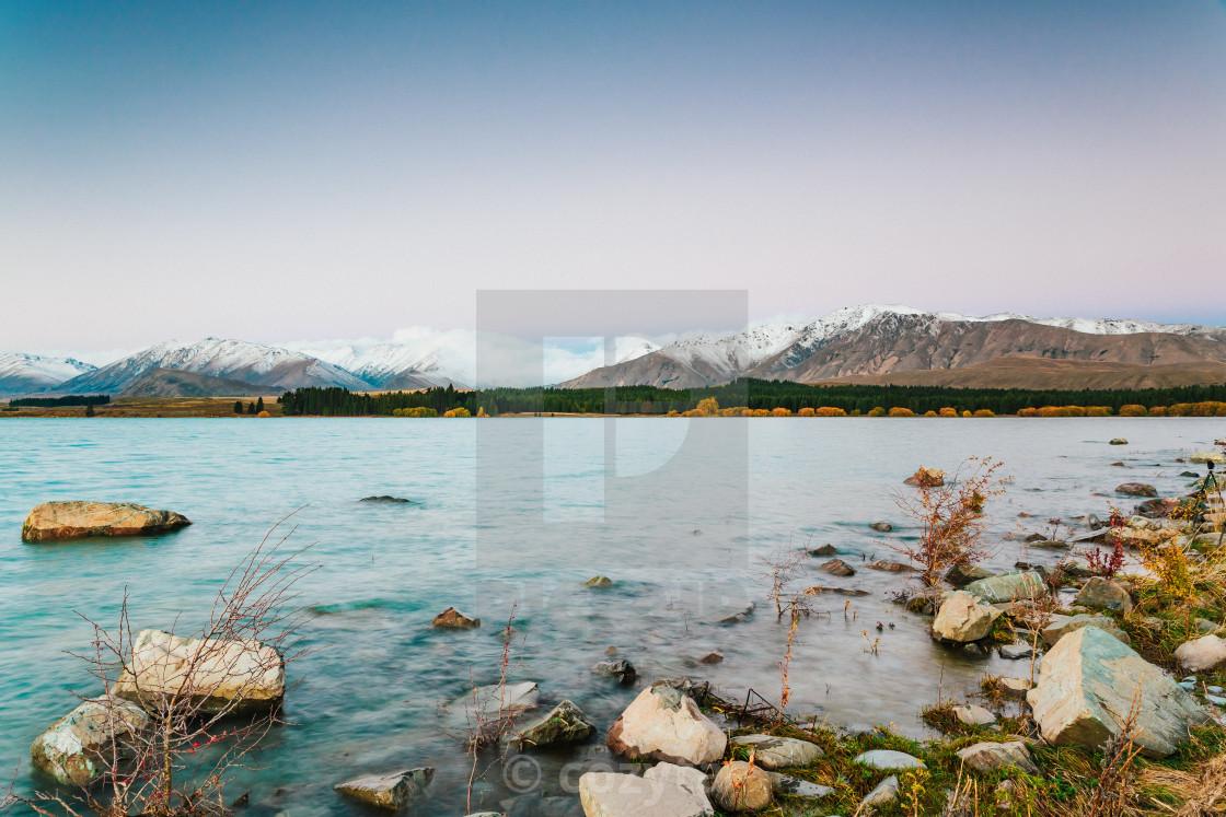 """""""Lake Tekapo, South Island, New Zealand"""" stock image"""