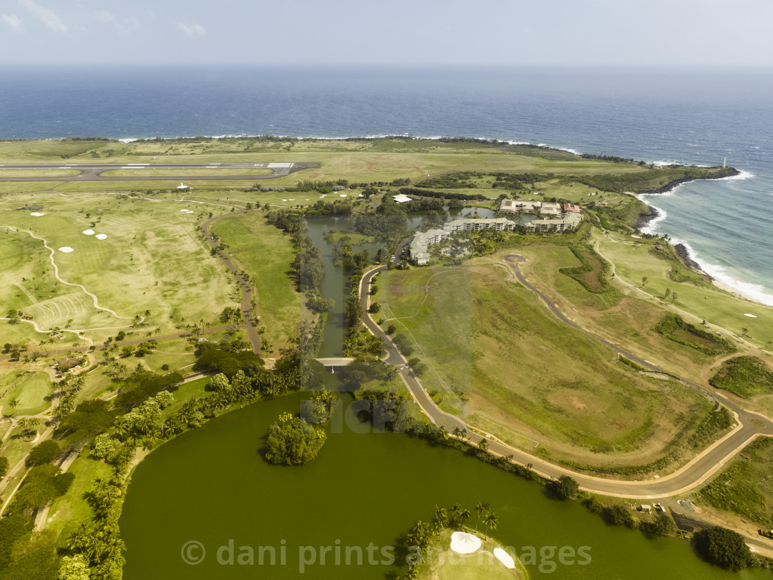 Aerial View Of The East Side Of Hilo, Hawaii - License