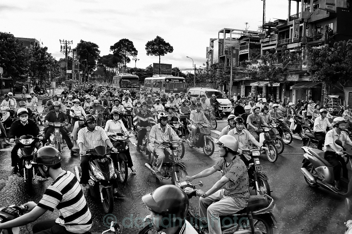 """Morning, Ho Chi Minh City, Vietnam"" stock image"