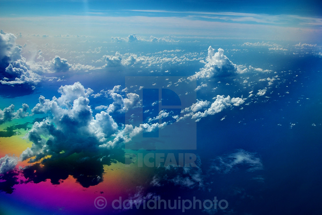 """Clouds in Space"" stock image"