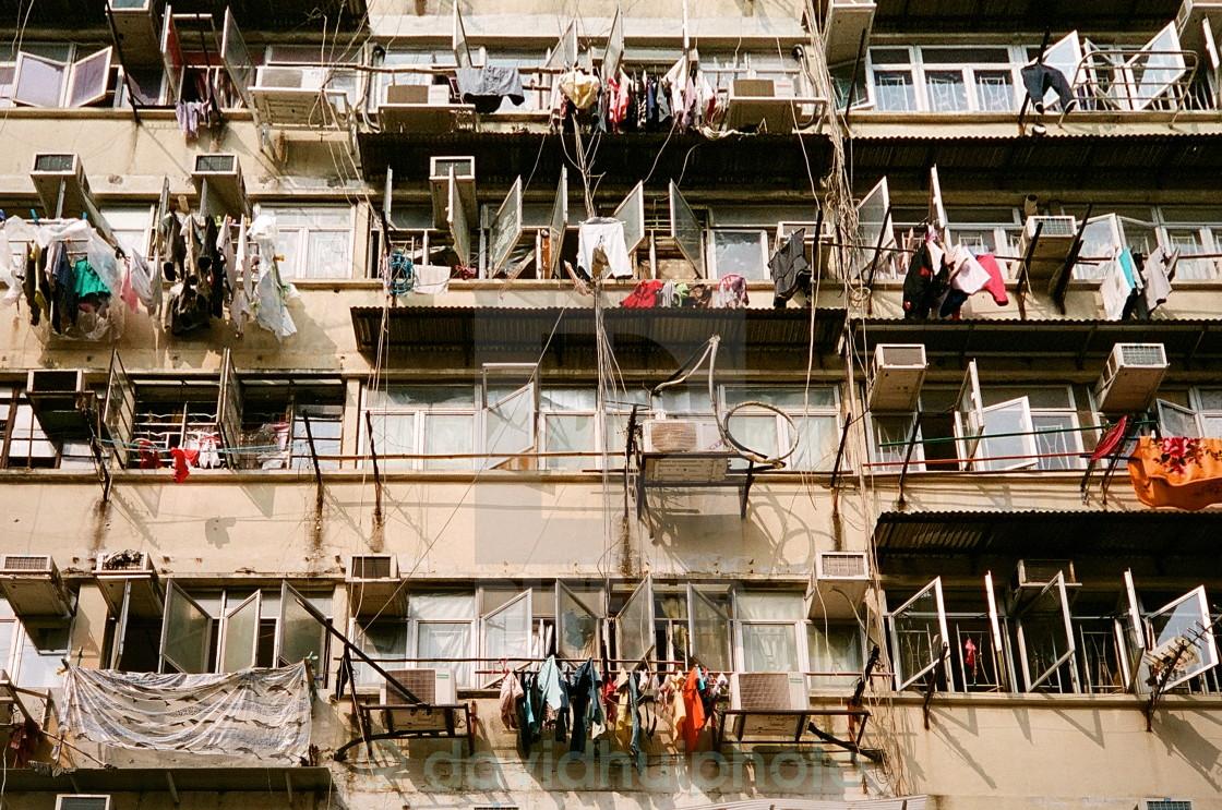 """Sham Shui Po District, Hong Kong"" stock image"
