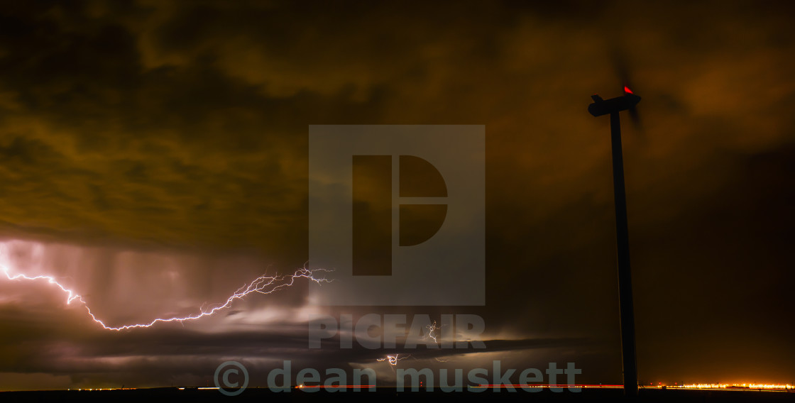 """Texas Storm"" stock image"
