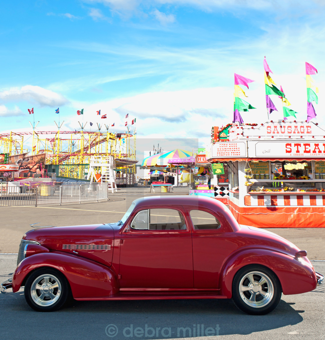 """car and carnival"" stock image"
