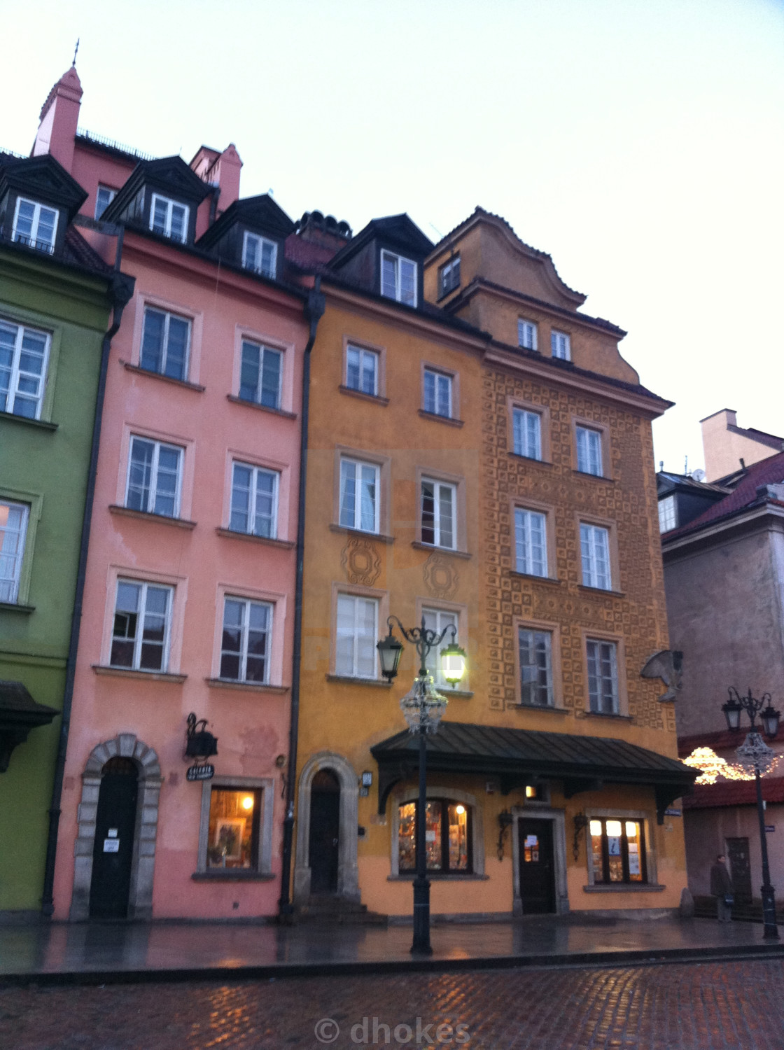 """""""Old Town, Warsaw"""" stock image"""
