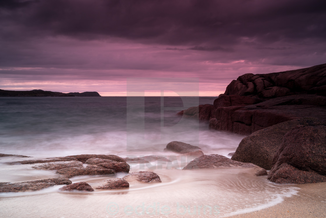 """A Donegal beach"" stock image"