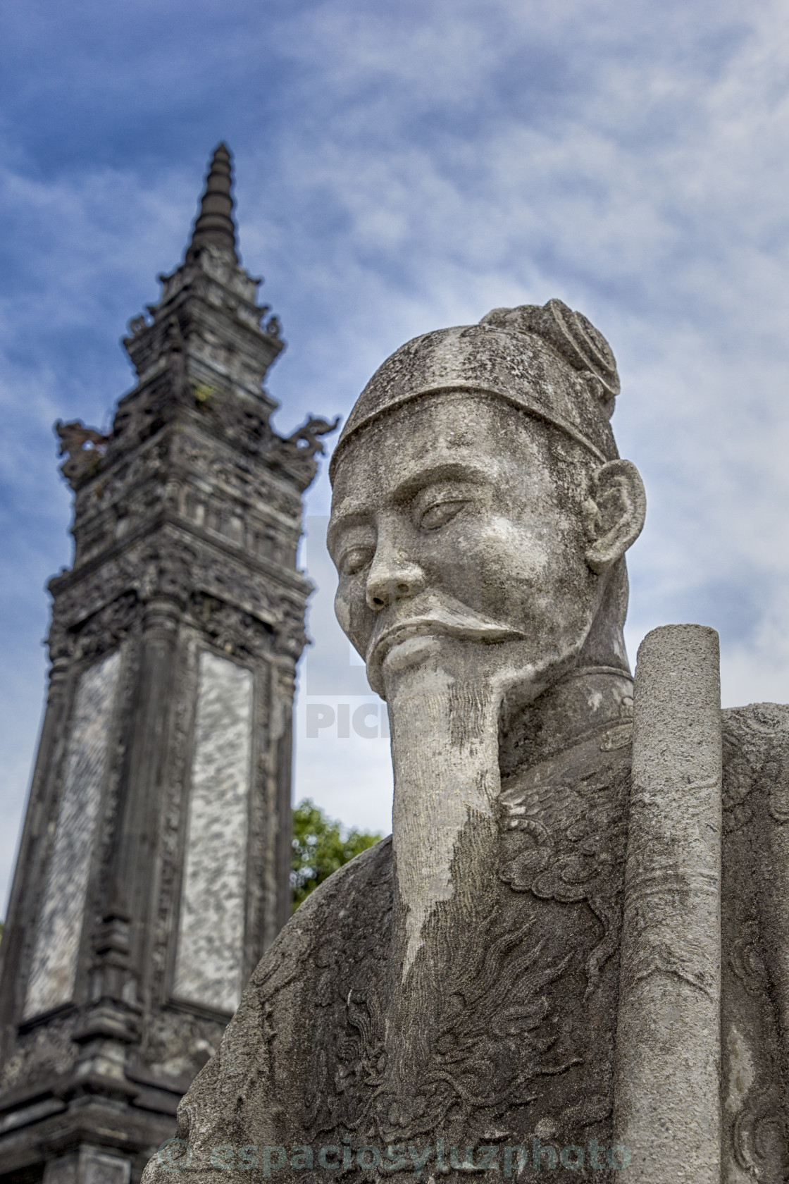 """Vietnam Imperial tombs Hue"" stock image"