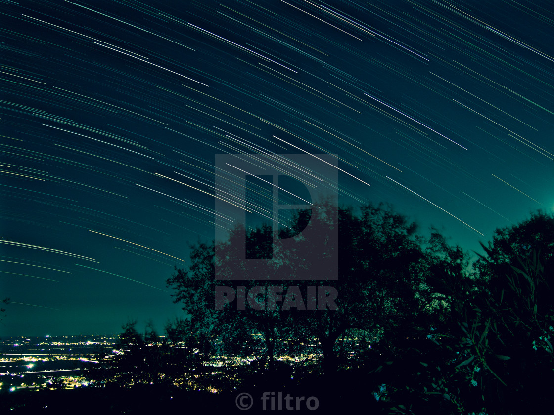 """startrail"" stock image"