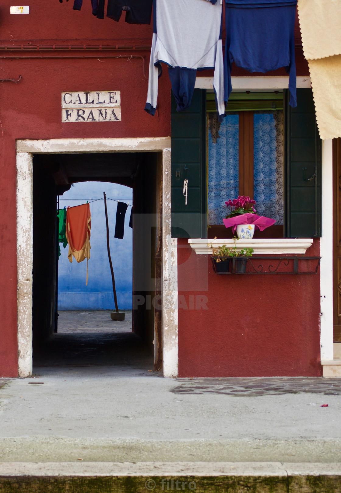 """""""il portico"""" stock image"""